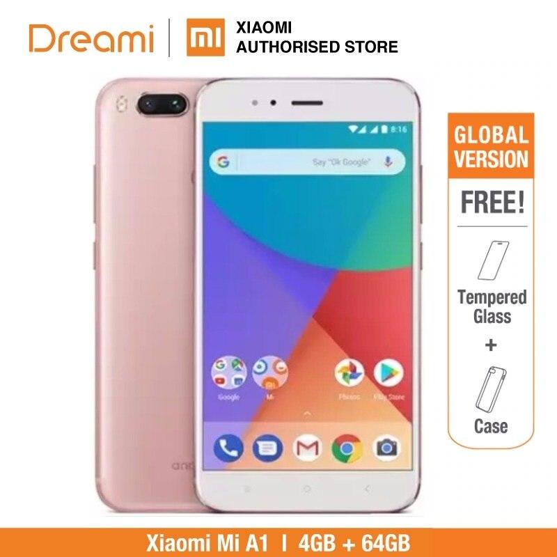 Versión Global Xiaomi Mi A1 64GB ROM 4GB RAM (Nuevo y Sellado) xiaomi mia1 64gb