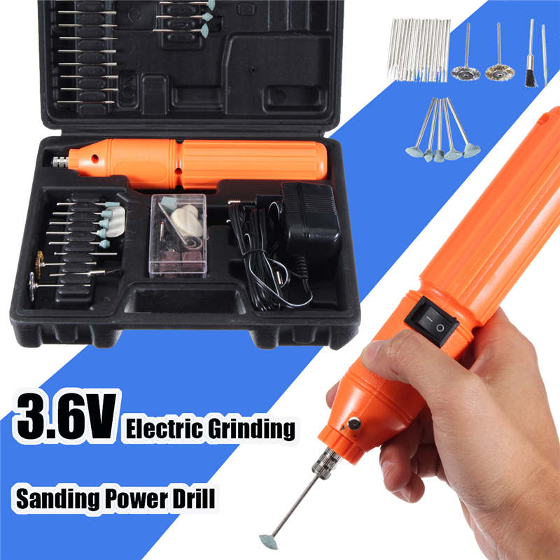 10000rpm 3.6V Mini Electric Grinding Drill DIY Carving Grinding Polishing Drilling Power Tool High Speed Multi Rotary Tool Set haoli wireless portable electric mini drill carving polishing grinding drilling tool variable speed liuthium battery rotary tool