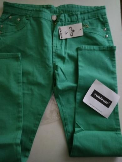 High Waist Jeans For Women Winter Autumn Jeans Woman Skinny Slim Ol Office Denim Pencil Pants Female Jeans Femme Trousers photo review