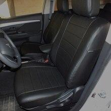 Для Mitsubishi Outlander 3 2013-2019 специальные чехлы для сидений автомобиля полный комплект автопилот эко-кожа