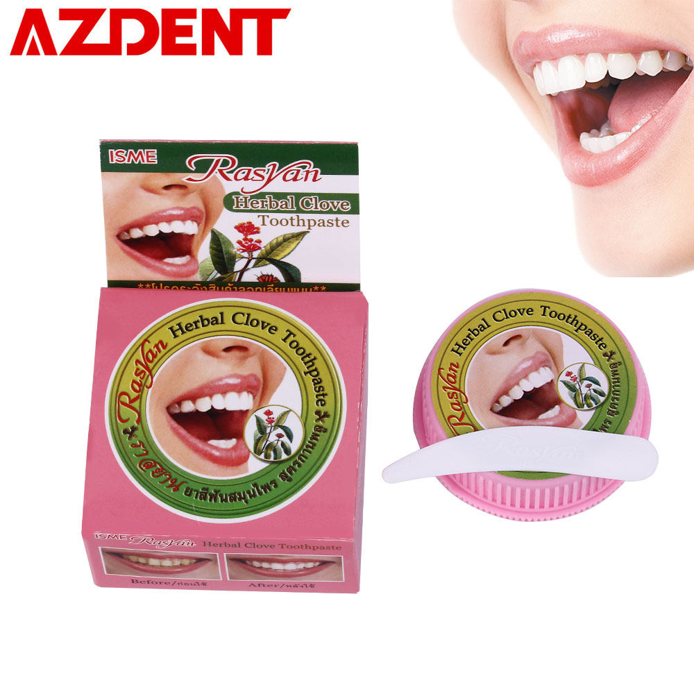 25g/10g Natural Toothpaste  Coconut Herb Clove Mint Tooth Paste Teeth Whitening Toothpaste Gel Dentifrice Remove Stain Cleaner