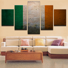 Modern Poster HD Prints Canvas Photo Home Decor For Living Room 5 Pieces Flag Paintings Wall Art Pictures Framework