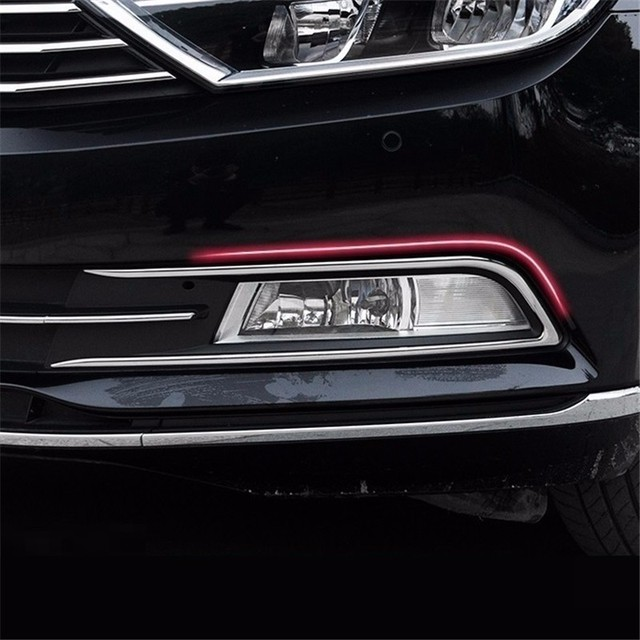 Front Fog Lamp exterior promote automobile modified accessories accessory car styling protecter 17 FOR Volkswagen Magotan