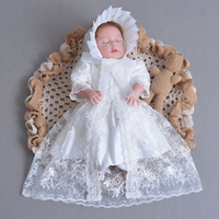 Summer Lace Baby Girls Dress Newborn Baby Dress Kids Infant Clothes Baby Girls Embroidery Outerwear Princess