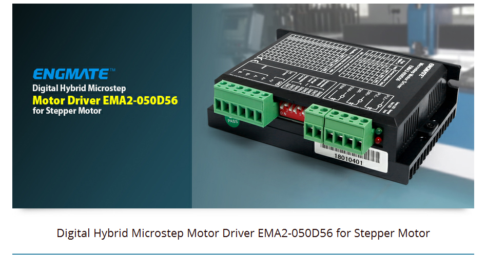 UTB8LHDFiT IXKJkSalUq6yBzVXam - SAVEBASE DM556D EMA2-050D56 Stepper Motor Driver 2.1-5.6A 24-50V DC For CNC Milling Machine DIY Nema 23/34 Stepper Motor