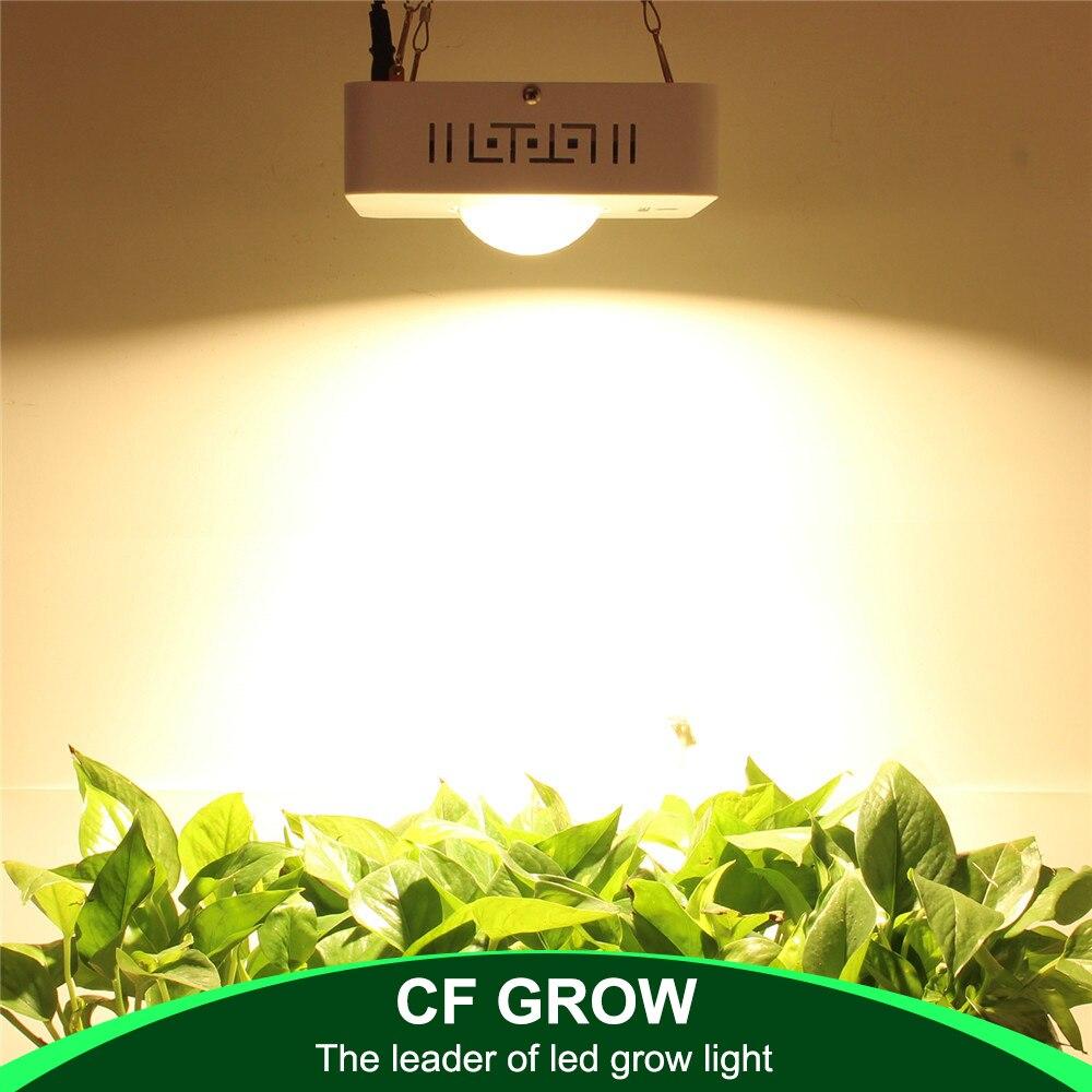 COB LED Élèvent La Lumière Plein Spectre CREE CXB3590 100 w 12000LM 3500 k Remplacer HPS 200 w Croissante Lampe Intérieure la Croissance des Plantes CONDUIT Éclairage