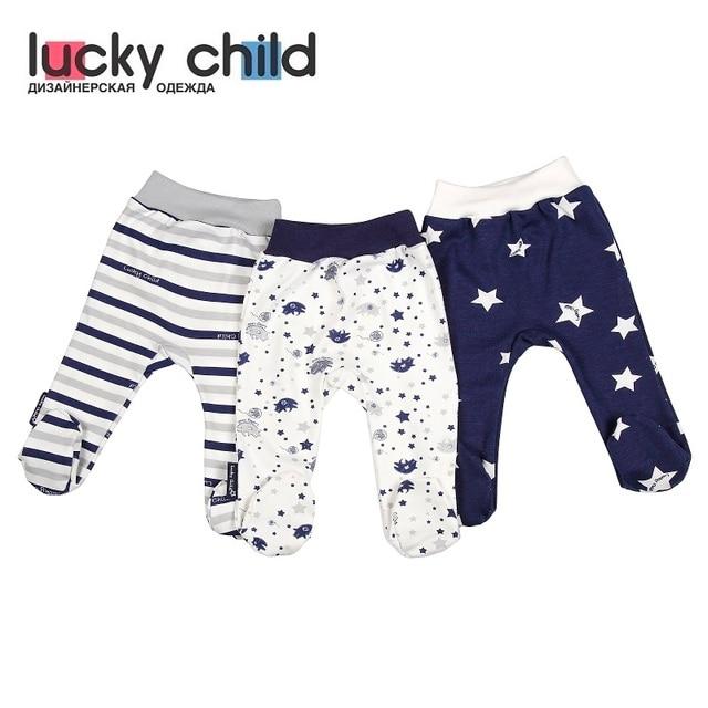 Ползунки Lucky Child для мальчиков и девочек [сделано в России, доставка от 2-х дней]