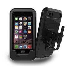 Bicycle Motorcycle Mobile Phone Holder bike bags for iphone 6 6s Plus Waterproof  shockproof GPS Bike Case