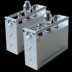 Gotowy A80 300B jednokanałowy wzmacniacz lampowy lewy i prawy kanał dzielony czysty wzmacniacz rurowy klasy A.
