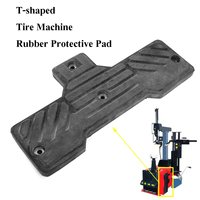 Tire Changer Accessories Rubber Protection Plate Pad Mat for Fire Eagle Black