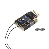 FrSky X4RSB 3/16ch 2.4Ghz Receiver w/S.BUS PPM, Smart Port & telemetry For X9DP QX7 X Lite Pro FPV Drone