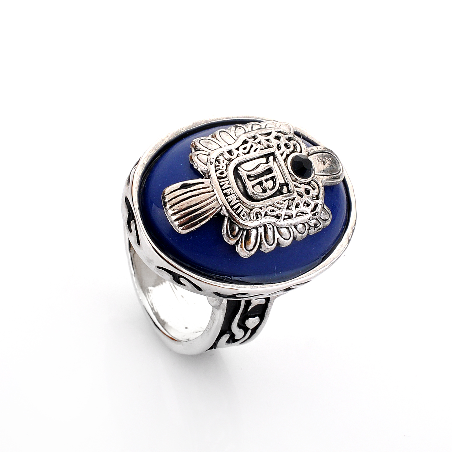 The Vampire Diaries Rings Real 925 Sterling Silver Damon Salvatore