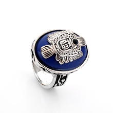 Lureme Brand Jewelry Vintage Vampire Diaries Rings Salvatore Damon Stefan 's Punk Rings For Women&Men Christmas Gifts