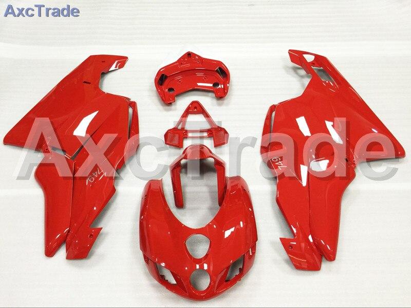 Мотоцикл Обтекатели комплекты для Ducati 749 999 2003 2004 03 04 АБС впрыска Обтекателя кузова комплект Красный A484