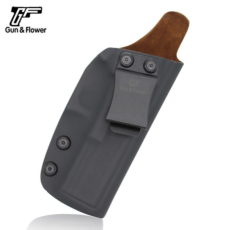 Gunflower Concealed Pistol Case Gun bag Kydex Holster with Leather inside for Glock 17/22/31