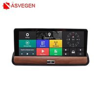 3g Автомобильный dvr gps навигация ips экран 16 г авто Камара Android 7,0 дюймов зеркало заднего вида FHD 1080 P видео регистраторы Wi Fi Bluetooth