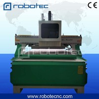 Three spindle ATC wood working machine, cabinet furniture working cnc router 1325