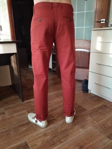 Simwood Brand Spring Winter New Fashion 2018 Slim Straight Men Casual Pants 100% Pure Cotton Man Trousers Plus Size  KX6033