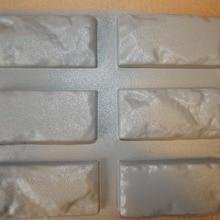 """6 шт. новые пластиковые формы для бетон гипс Супер Лучшая цена стены камень Цементная плитка """"старый кирпич"""" декоративные настенные формы дизайн"""