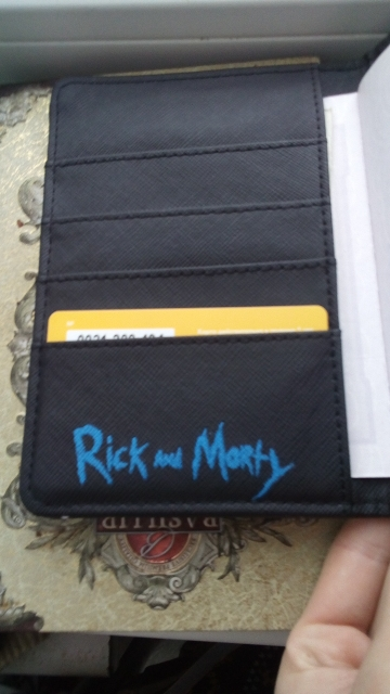 4 styles Advanture Rick and morty Passport Cover Pickle rick PU Leather Travel Passport Holder Case Card ID protective folder photo review