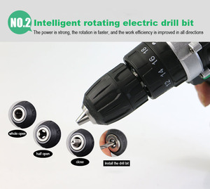 Image 5 - 21V power tools  battery drill electric Drill Electric Cordless Drill electric drilling  Screwdriver Mini electric screwdriver