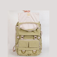 Earth Explorer NG5160 Canvas DSLR Camera Bag Backpack/ Case/ Laptop Bag for Canon Nikon Sony
