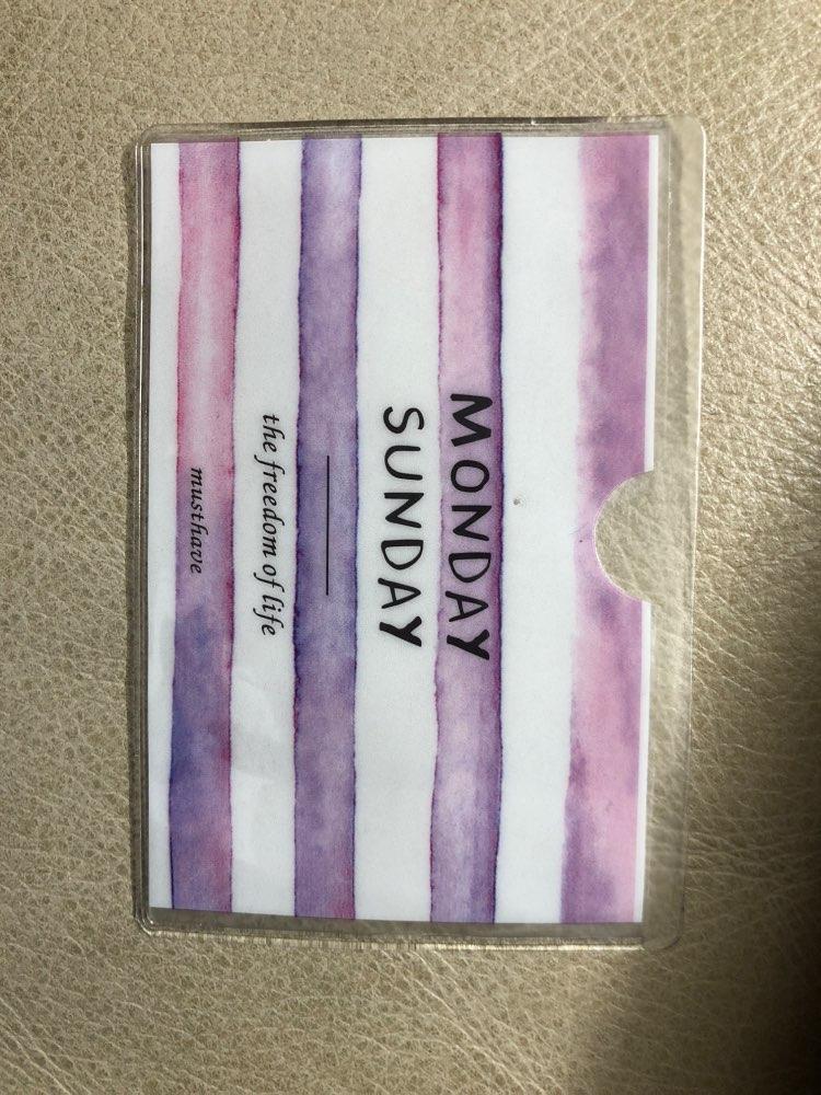 Kawaii 17Colors – Little Cartoon PVC 11*6CM Cards Holder BAG , PVC ID Cards Pouch Case BAG photo review