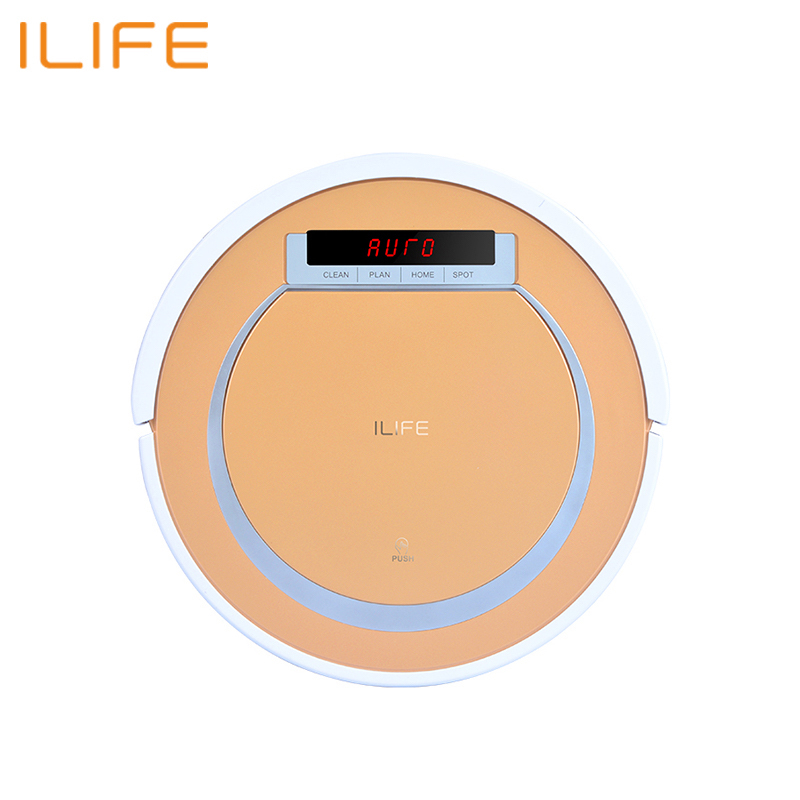 Robot vacuum cleaner ILIFE V55 robot wireless handheld vacuum cleaner cleaning for home 2600 mah cleanmate qq6 robot vacuum cleaner black