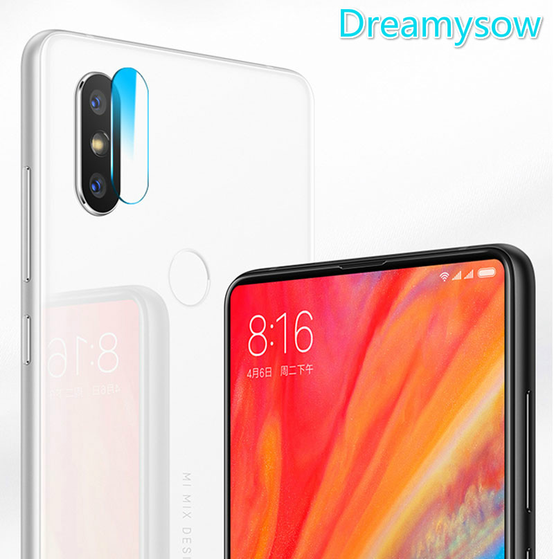 Back Camera Lens Transparent Tempered Glass For Xiaomi Mi8 Mi8se Mi6 Mix2 Redmi S2 Note  ...