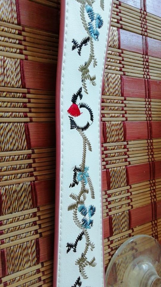 Herald Fashion Bag Accessories Handles for Women Handbag Quality Leather Strap Belt for Shoulder Bag Vintage Messenger Bag Strap photo review
