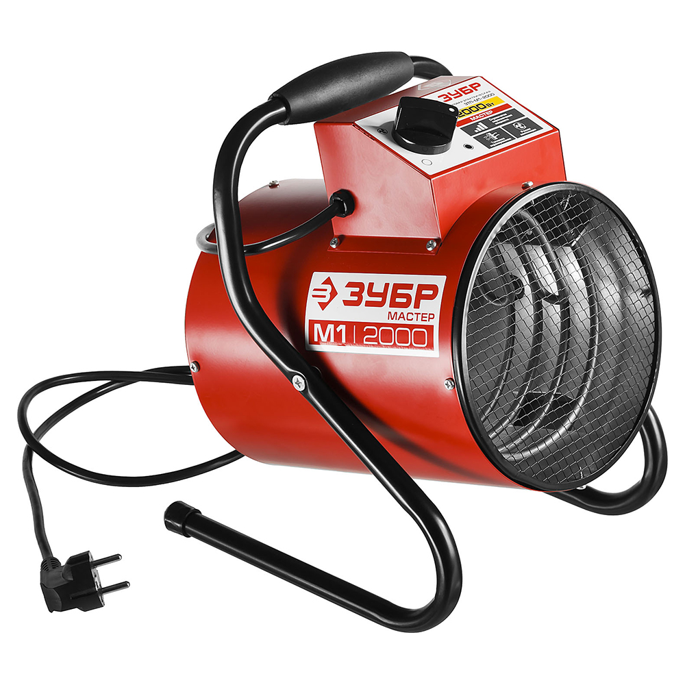 Electric heat cannon ZUBR ZTP-M1-2000 цены