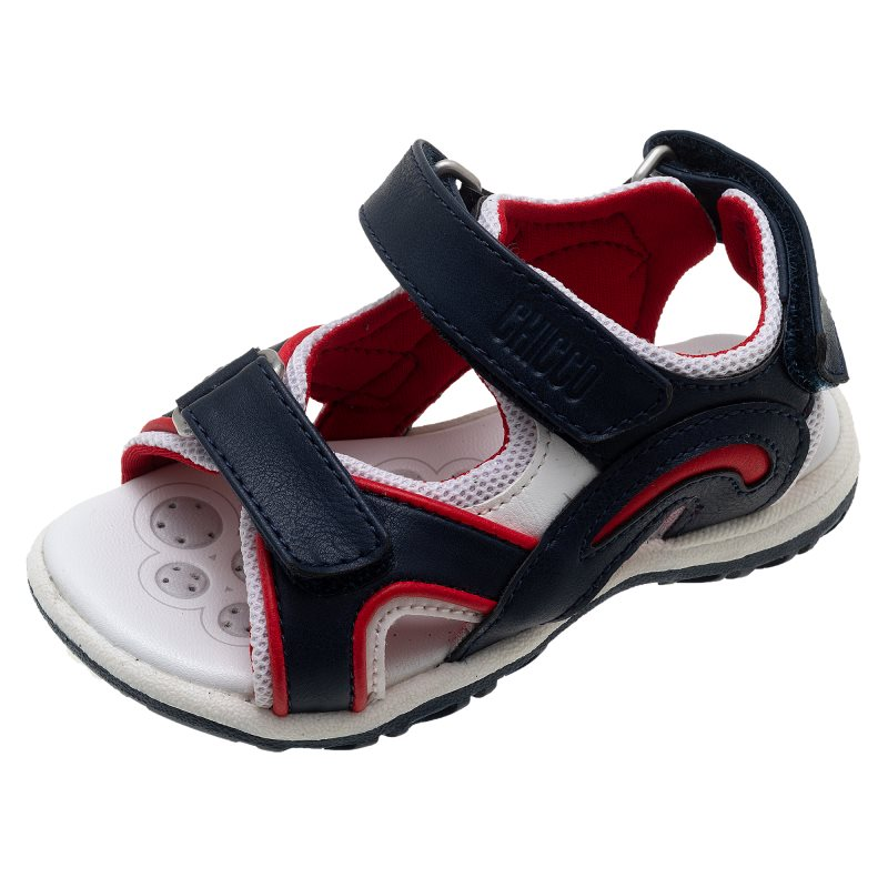 Фото - Sandals Chicco, size 26, color blue and red shoes velcro genuine leather chicco size 200 color blue and red