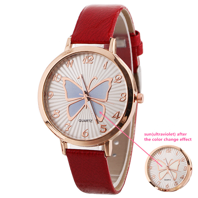 Brand Change Color Watches Women Fashion Casual Clock Colorful Lover's Watches Quartz Wrist Watch montre homme saat naviforce