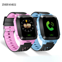 Children Anti Lost GPS Smart Watch Kids SOS Call Location Tracker Wristwatch Baby Girl Boy Safe