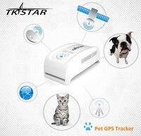 Mini Pet GPS Tracker Dog Cat Tracker TK909 GPS Locator 400 Hours Stanbytime Remotely Voice Monitor SOS Free Tracking no box