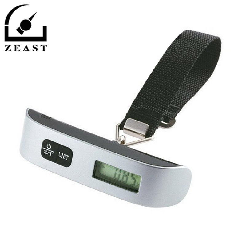 110 lb/50 kg Portable Hand Held Hook Belt Electronic Scale Digital Travel Suitcase Luggage Hanging Scales Weighing balance high quality precise jewelry scale pocket mini 500g digital electronic balance brand weighing scales kitchen scales bs