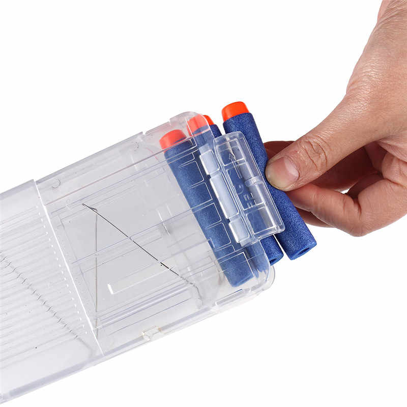 22 Reload Clip Tijdschriften Ronde Darts Vervanging Plastic Tijdschriften Speelgoed Pistool Zachte Kogel Clip Voor Nerf Gun Voor Nerf Blaster