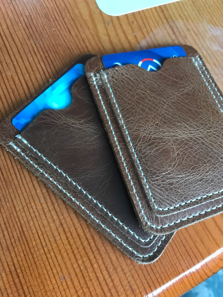 Slim Cow Leather Card Holder for Credit Card Case Porte Carte for Credit Cards Cardholder Business Bank Card Holder T photo review
