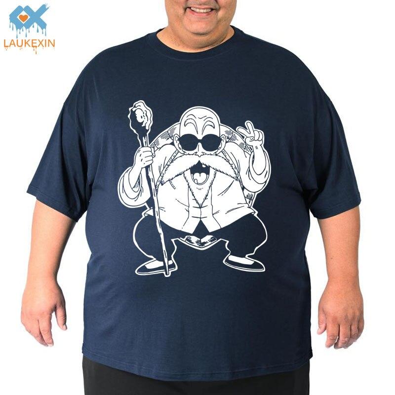ᑐLaukexin Dragon Ball Z maestro Roshi negro camiseta de los hombres ... a57b7815412e