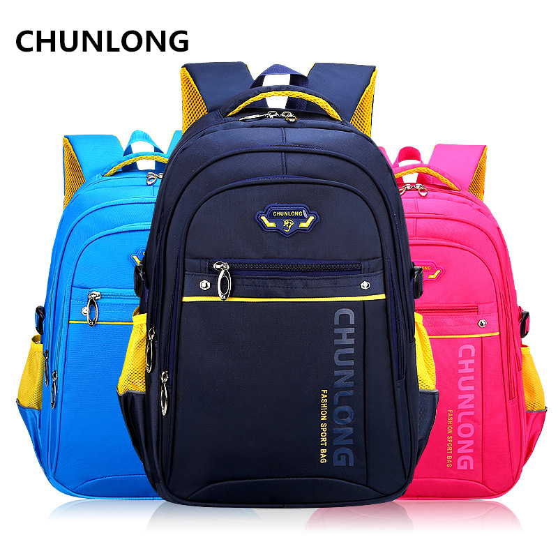 CHUNLONG 2017 New Children School Bag Alleviate Burdens Unisex Kids Backpack Casual Bags Backpacks For Teenage School bags ...