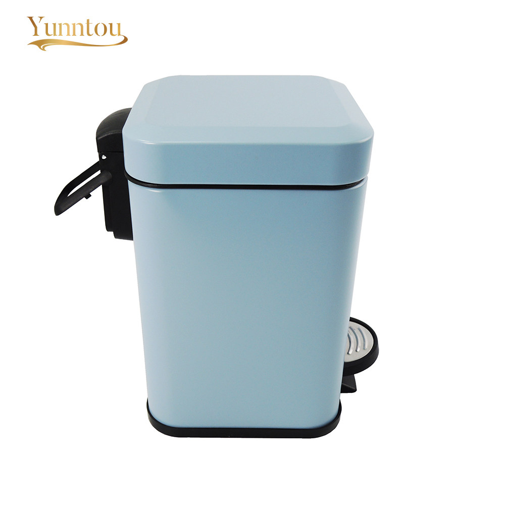 Online Shop Rectangle Trash Can 5L Kitchen Bathroom Office Dustbins ...