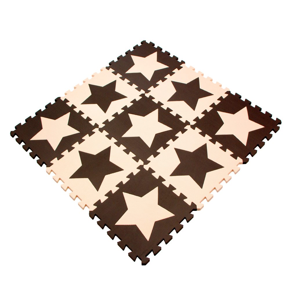 Eva Foam Puzzle Play Mat Baby 10pcs Lot Kids Star Rugs