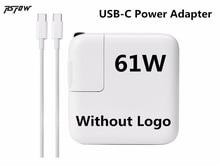 RsFow 61 W USB-C Puissance Adaptateur Type-C Chargeur (Sans Logo) pour Macbook pro 13 pouces A1706 A1707 A1708 A1718 (fait En 2016).