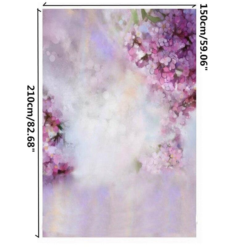 5x7ft Dreamlike Flowers Baby Photography Backgrounds Vinyl Photo Shoot Backdrops
