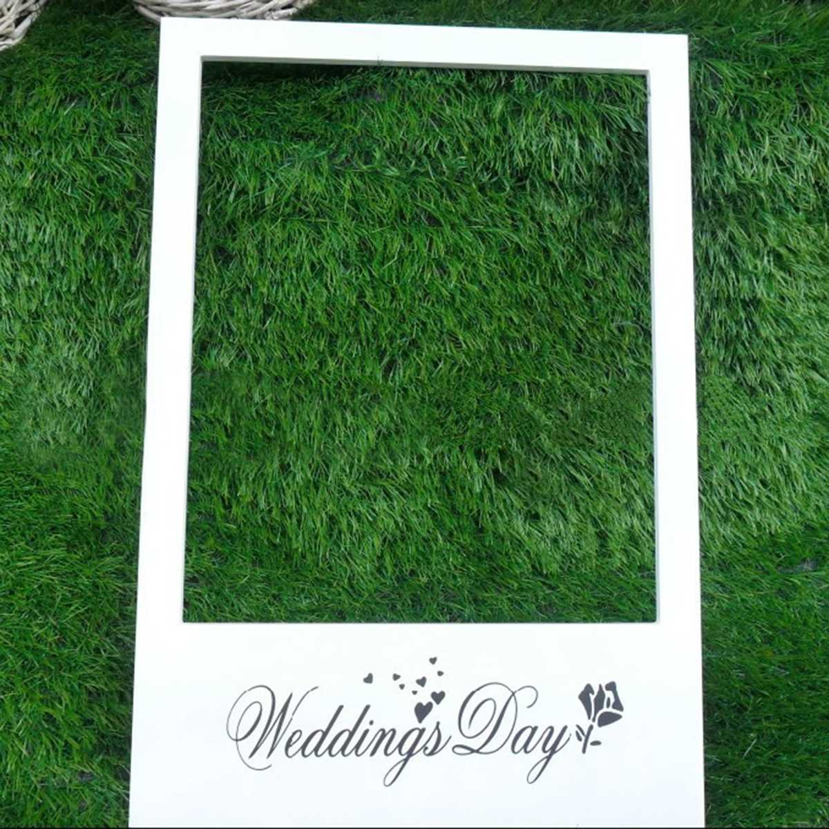 Large Photo Booth Frame Happy Birthday Photo Booth Props 30th 40th