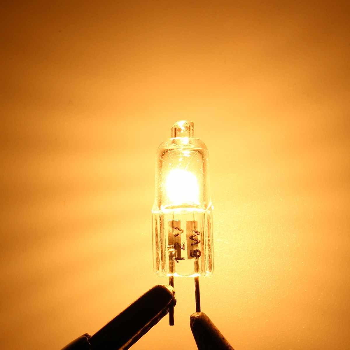 Smuxi 1/10 Pcs 5 W 35 W 50 W Hemat Energi Bola Lampu Tungsten Halogen Lampu DC 12 V G4 Basis Batal Lampu Dua Pin