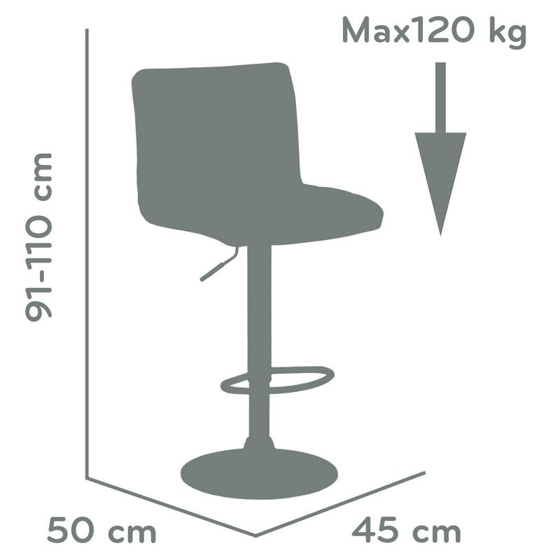 Peachy 94357 Barneo N 47 Leather Kitchen Breakfast Bar Stool Swivel Cjindustries Chair Design For Home Cjindustriesco