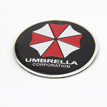56.5mm umbrella car stickers Car Tyre Steering Wheel Center Hub Cap Emblem Symbol Car Sticker