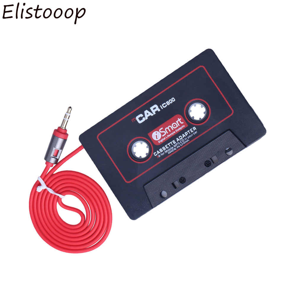 3.5 Mm Jack Auto Cassette Speler Tape Adapter Cassette Mp3 Speler Converter Voor Ipod Voor Iphone MP3 Aux Kabel Cd speler