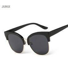 2017 de la Alta Calidad Del Ojo de Gato gafas de Sol de Las Mujeres Diseñador de la Marca de La Vendimia moda lente gafas de Conducción Gafas de Sol De Las Mujeres UV400 sol